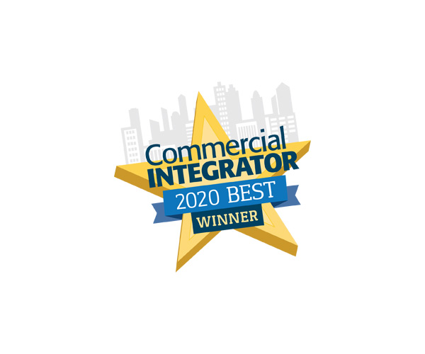 2020 Commercial Integrator's 2020 BEST Award