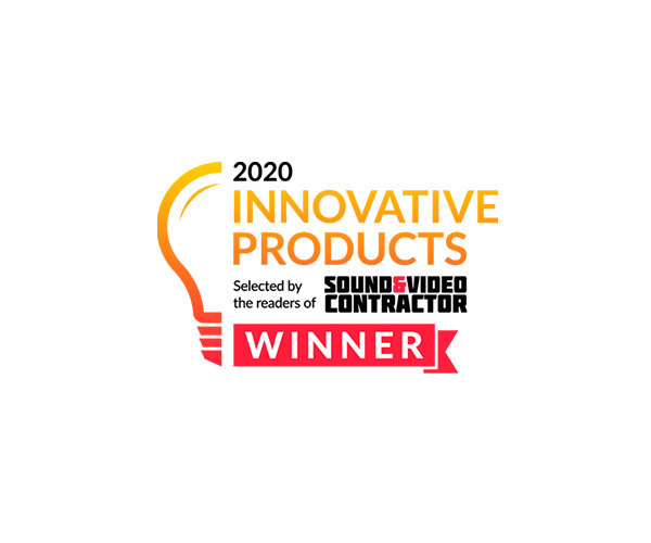 2020 Sound & Video Contractor Innovative Products Award