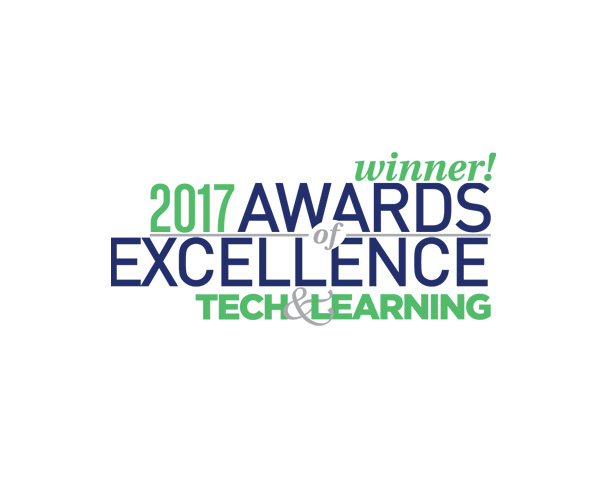 Tech & Learning Award of excellence 2017