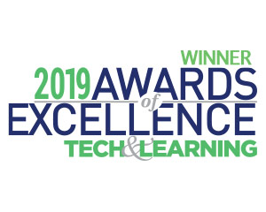 2019 Tech & Learning Magazine Award Of Excellence